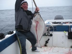 Whoa a halibut