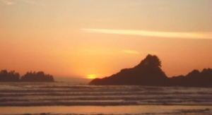 West Coast Sunset - Ucluelet BC