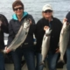 Tracy and Dave MacDonald, and friends, Lice and Perry Lucas, all from Courtenay, British Columbia got to experience a great fishing trip